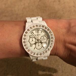 White quartz Sophie watch